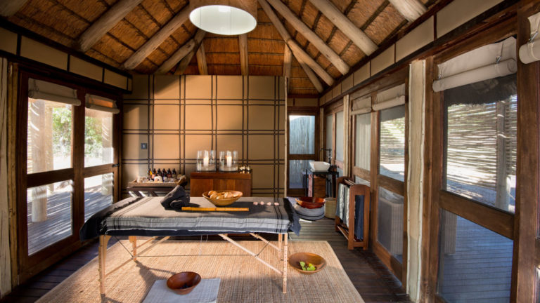 An African soul journey awaits you at Nxabega's onsite spa