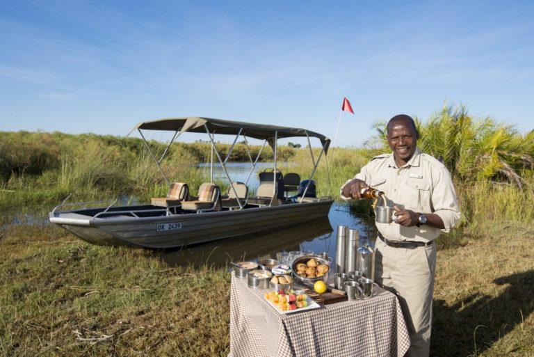 Perfect bush breakfast stop from Nxabega