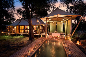 &Beyond's Xaranna Camp is part of the fly me around around Botswana special offer in the Okavango Delta their own private plunge pool and sala