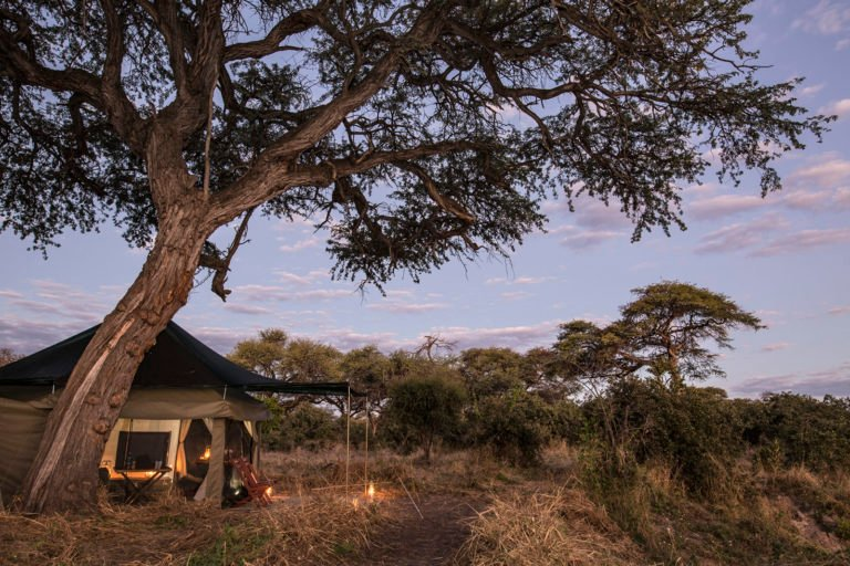Barclay Stenner's mobile tents are situated in exclusive wilderness areas