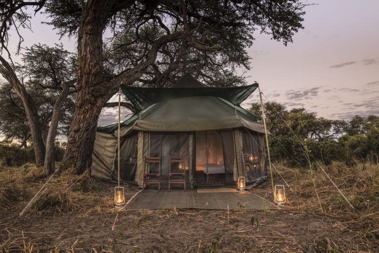 Barclay Stenner Safaris' luxury camping in the heart of nature