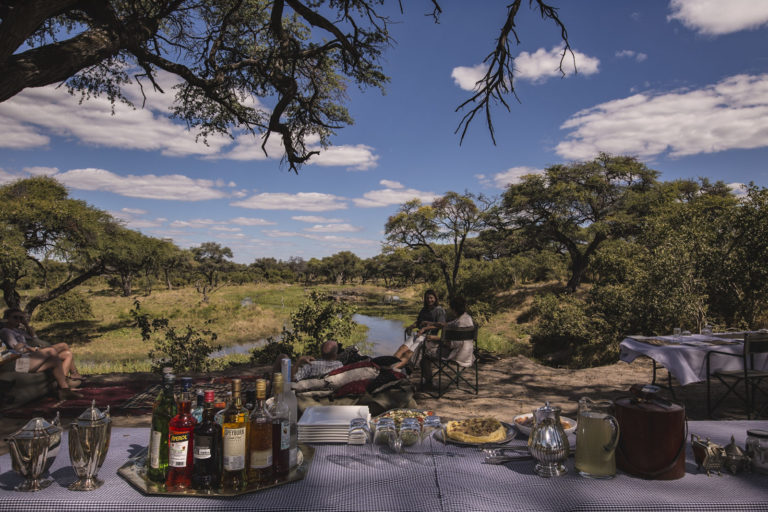 High tea in the bush with Barclay Stenner Safaris
