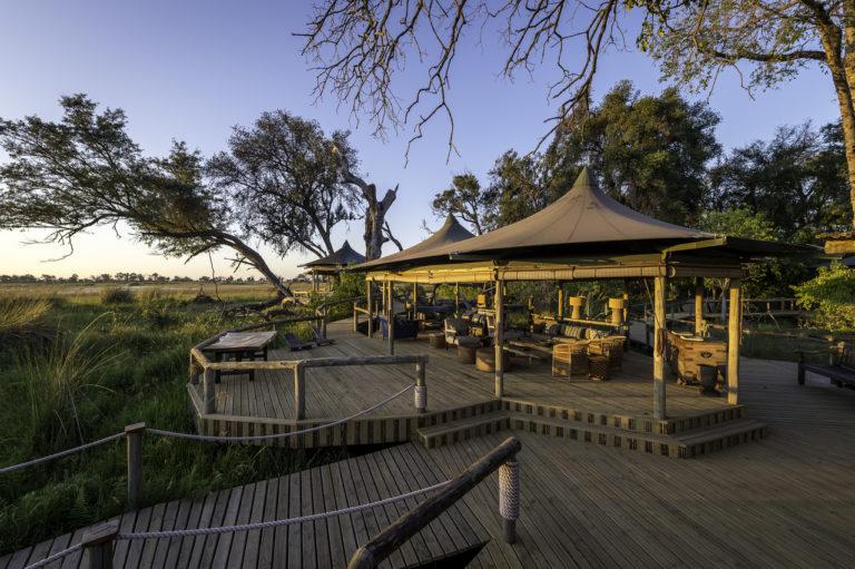 Little Vumburas' outdoor lounge enjoys superb views over the water