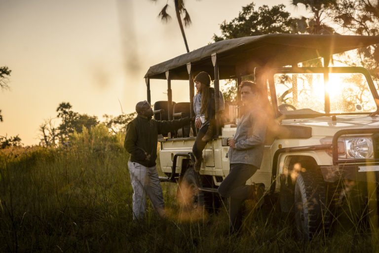 Treasured moments on Stanley Camp's wilderness game drives
