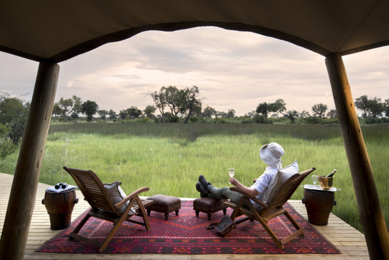 Luxury room with a view at Duba Explorers