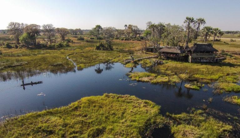 The magnificent waterways surrounding Gunn's Camp