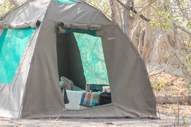 Moremi Crossing offers guests a wilderness camping experience