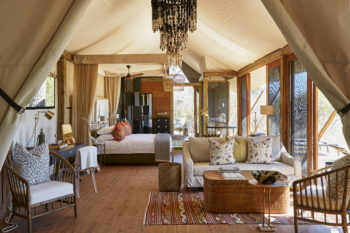 Long stay special offers in the Okavango Delta include the new Tuludi Camp