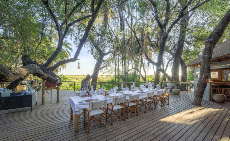 Al Fresco dining is a memorable experience at Setari Camp