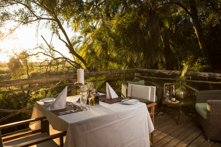 Private dinners can be arranged with Setari Camp for special occasions