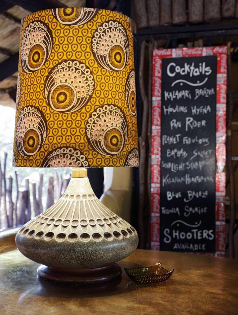 Planet Baobab - Bar cocktail list