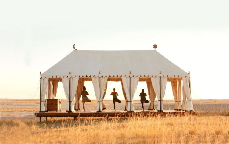 San Camp - Yoga Tent