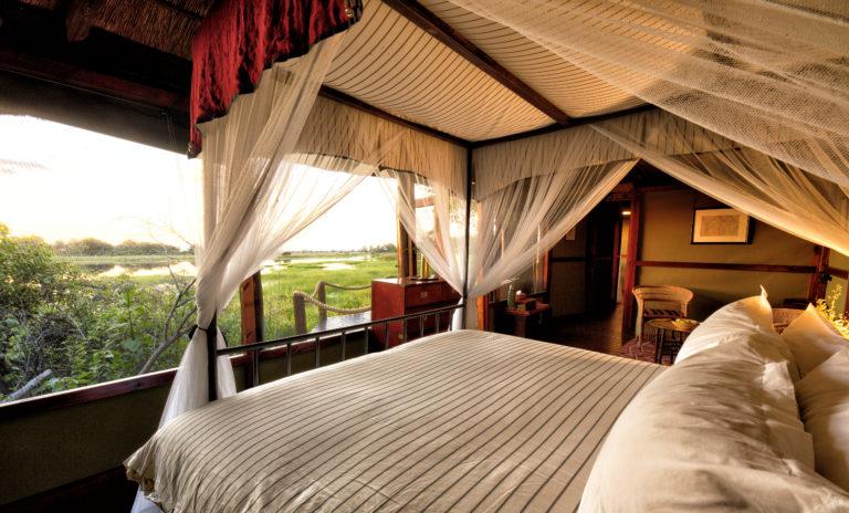 The elegantly furnished room at Mapula lodge