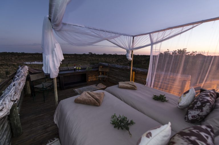 Romantic Skybeds vista at dawn