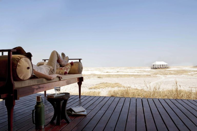 San Camp's wide open spaces are perfect for relaxation