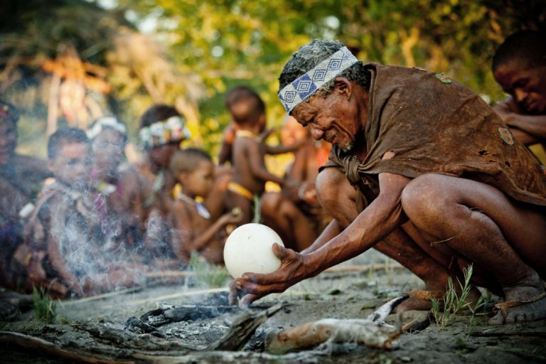 The bushman experience with Zu/'hoasi Bushmen is exceptional at Camp Kalahari