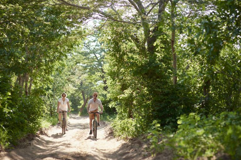 Biking at Chobe Chilwero