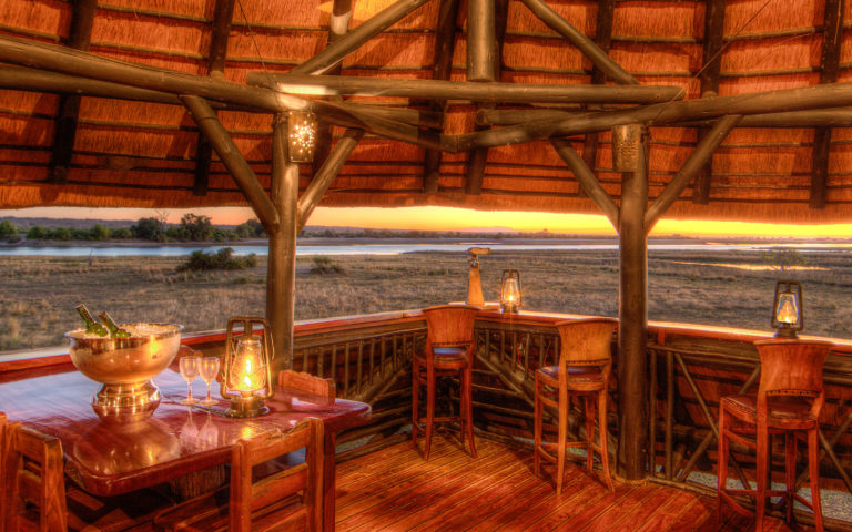 Evening approaches over the plains at Chobe Savanna