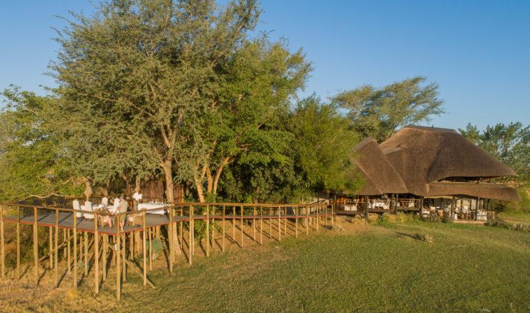 Chobe's Savanna Lodge overlooks the vast floodplains of the Puku F