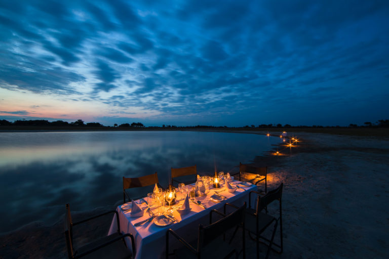 Dinner by lanternlight in the Delta courtesy of Footsteps Across the Delta