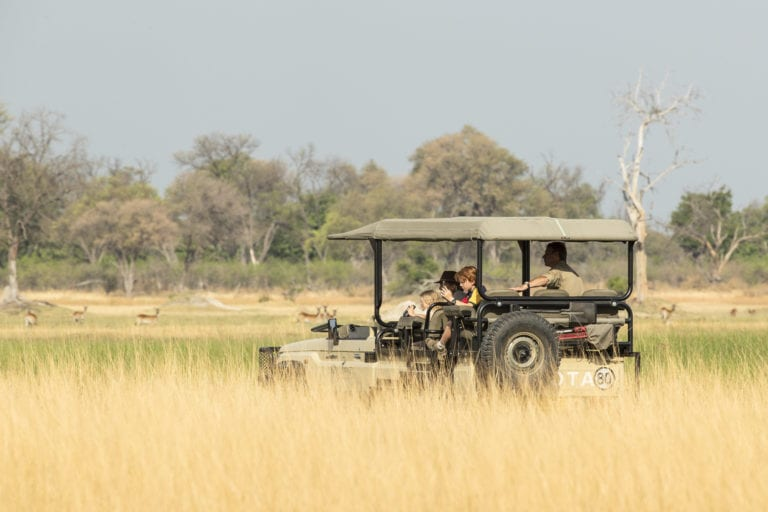 Game Drives at Shinde are varied and cover a wide range of environments