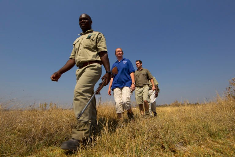 Walking safari at Footsteps