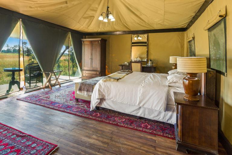 Interior decor of the larger luxury tents at Kadizora