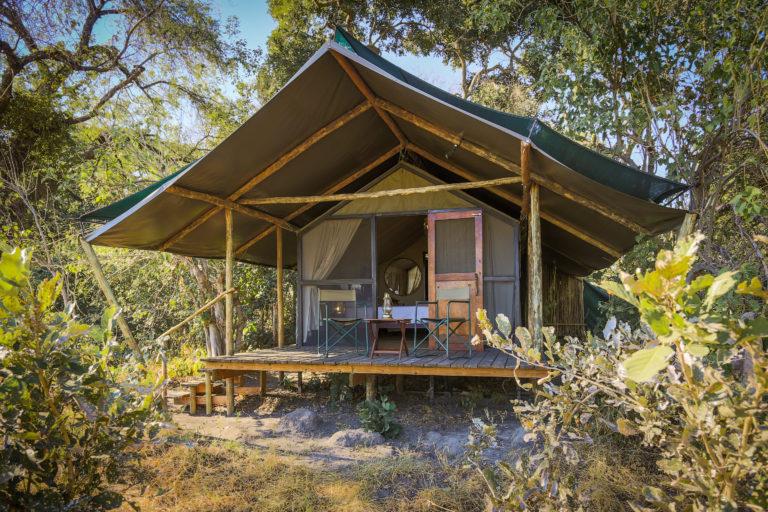 Kadizora guest tent exterior view