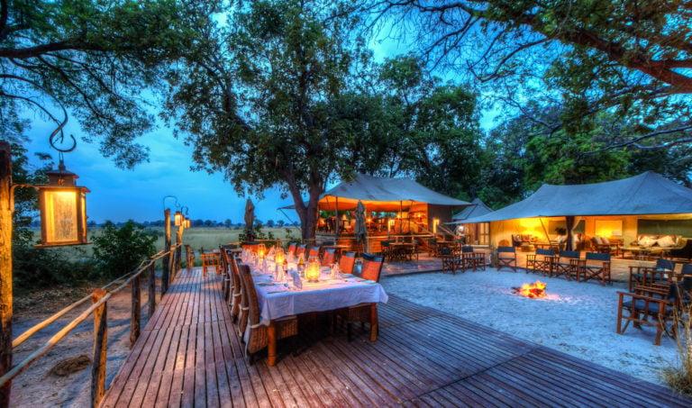 Dining at Kadizora is on deck under the stars most nights