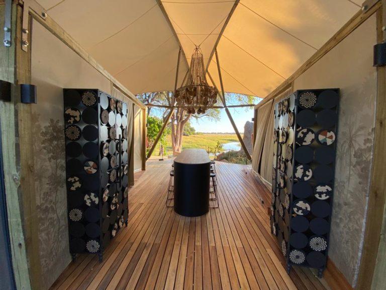 Khwai Leadwood boasts elegant modern decor
