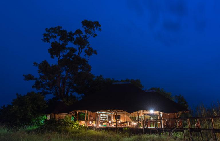 Kwando Lebala main area by night