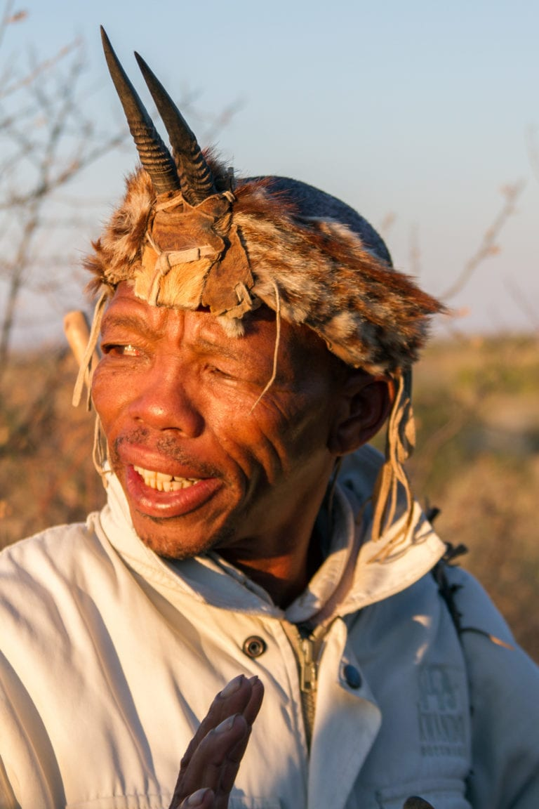 Bushman walks at Tau Pan offer fascinating insight into this ancient culture