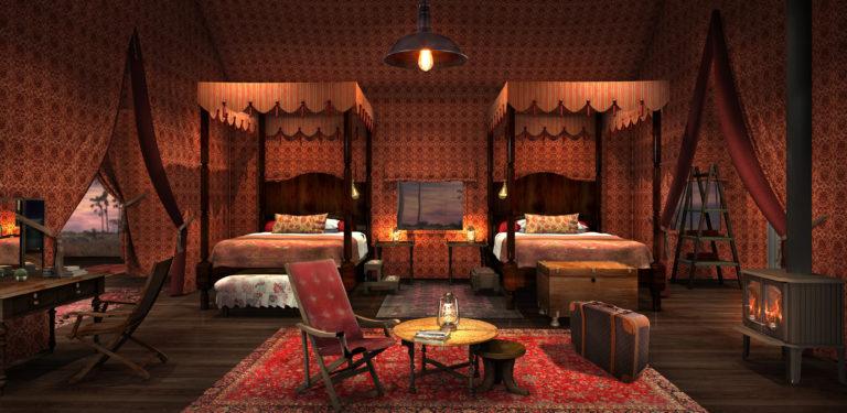 NEW Jack's Camp - Botswana_Bedroom interior