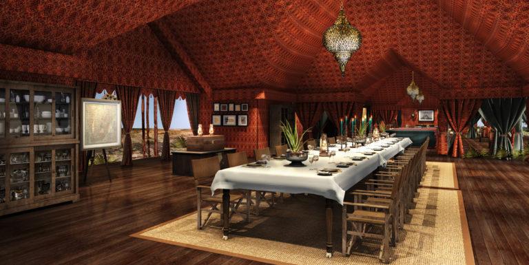 NEW Jack's Camp_Botswana_ - Dining tent