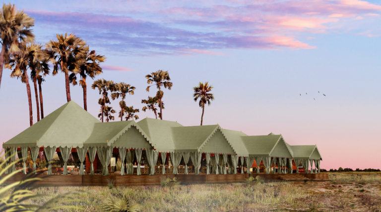 NEW Jack's Camp - Botswana - Exterior view