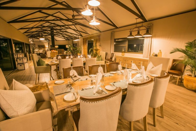 Dining room visual at Old Drift Lodge
