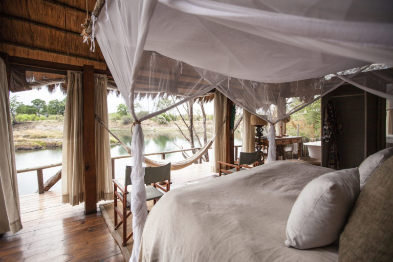 The Sindabezi luxury guest suite is out of this world