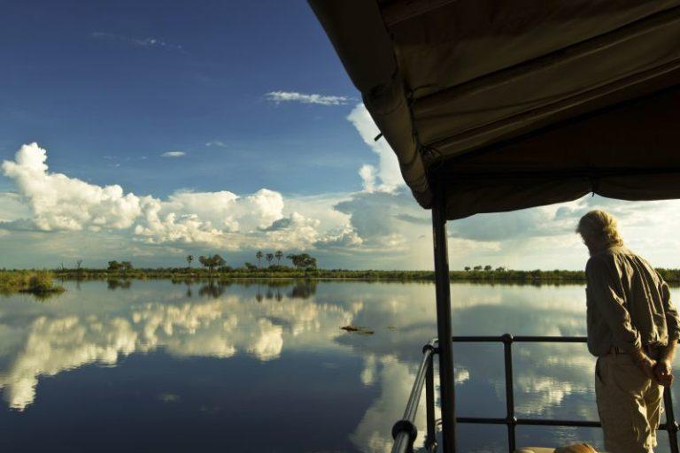 Water levels permitting Zafara hosts cruises on the Zibadianja Lagoon