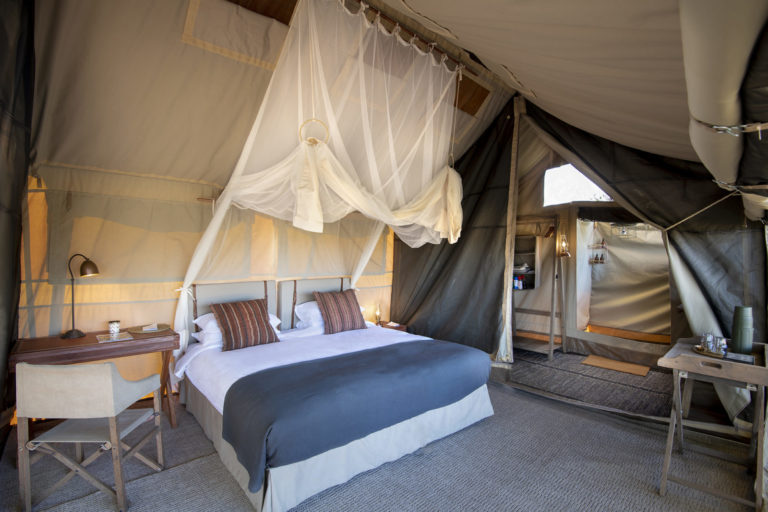 Linyanti Expeditions ensuite guest tent