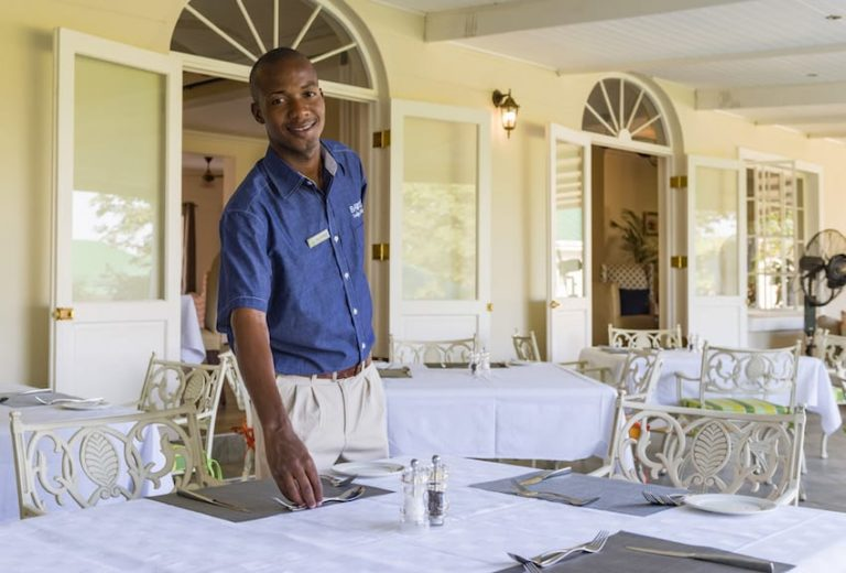 Personalized service with a smile at Batonka Guest Lodge