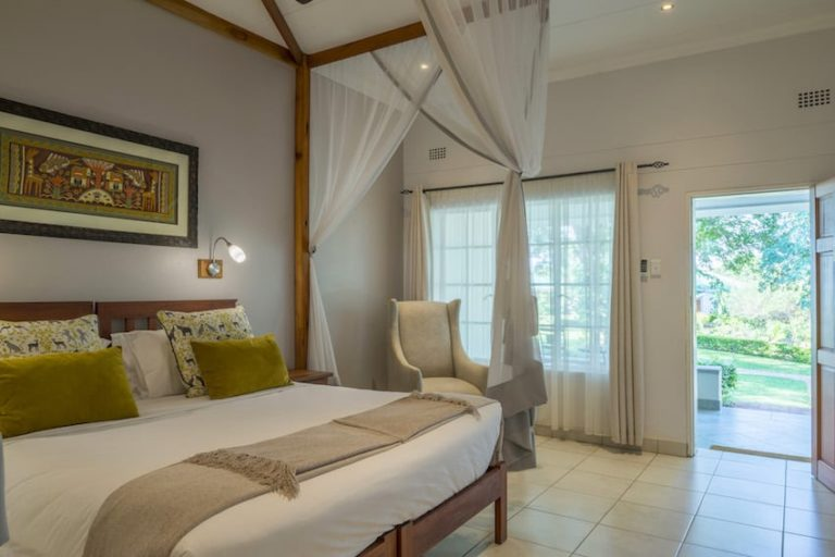 Spacious guest suite at Batonka Guest Lodge