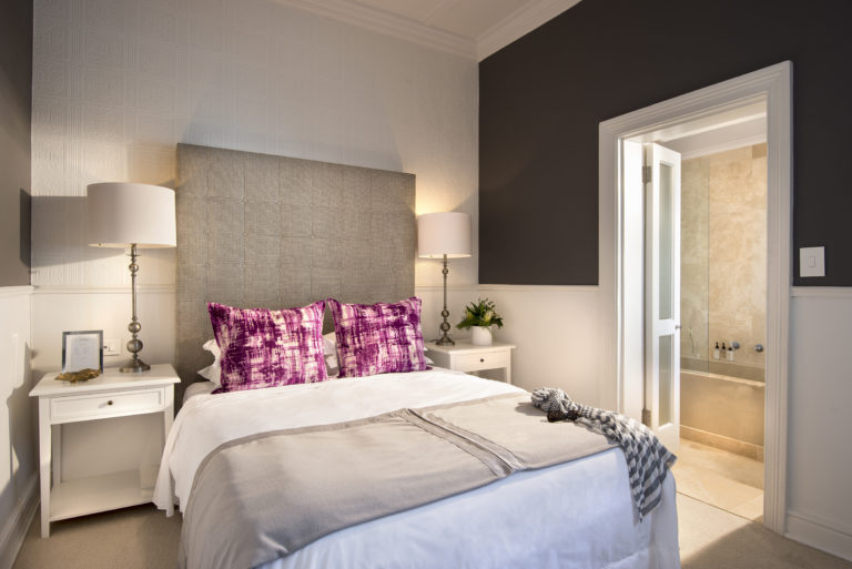 A single room with furnishings at Cape Cadogan
