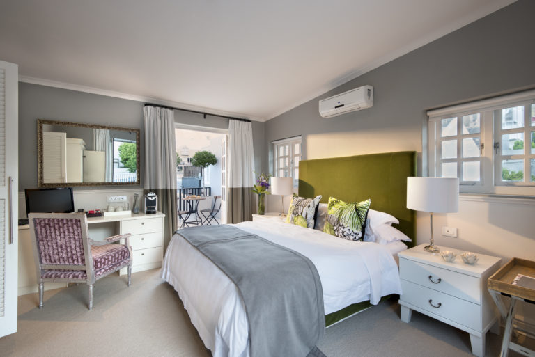 The rooms at the Cape Cadogan are spacious and very comfortable