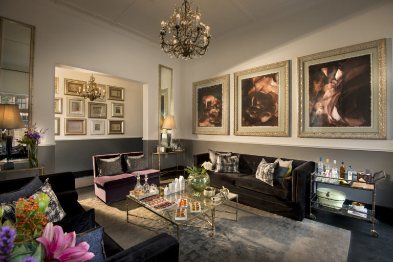 The lounge area at Cape Cadogan