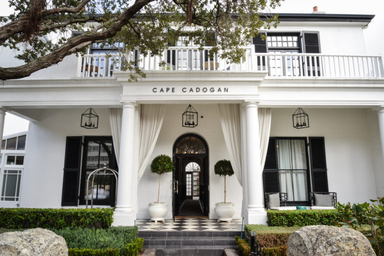 The entrance to the Cape Cadogan