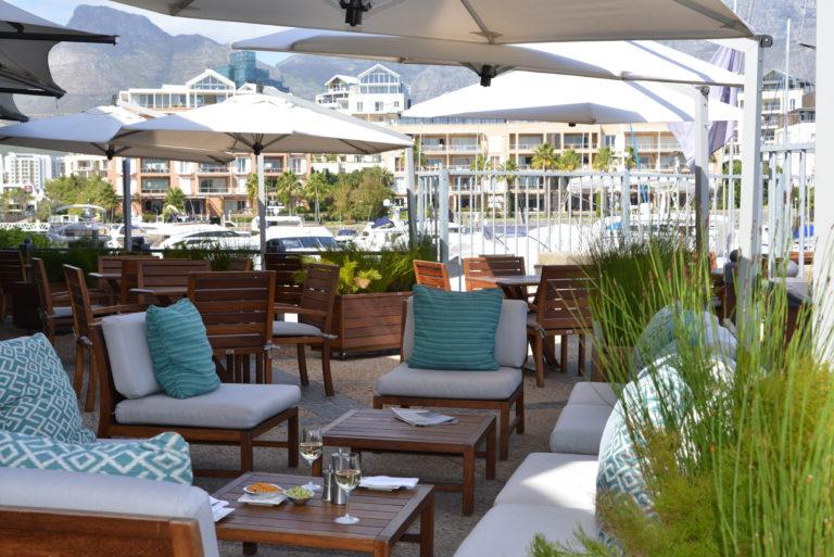 The Bascule Bar outside terrace at The Cape Grace