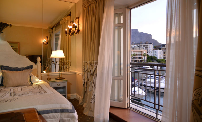The mountain facing suite at the Cape Grace