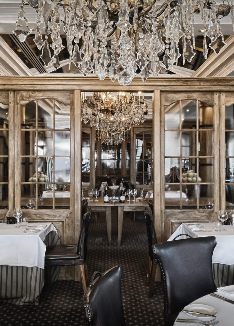 Cape Grace's Signal Restaurant offers a range of fine dining options