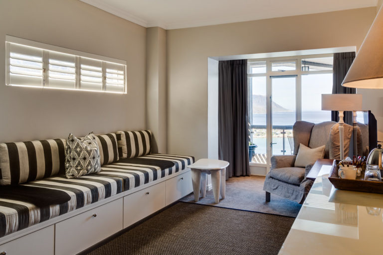 Cape View Clifton three bedroom self catering apartment stylish lounge area