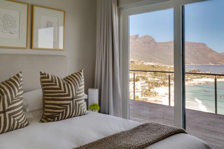 Cape View Clifton bedroom decor up close